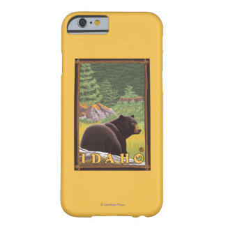 Black Bear in Forest - Idaho Barely There iPhone 6 Case