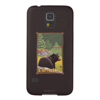 Black Bear in Forest - Idaho Case For Galaxy S5