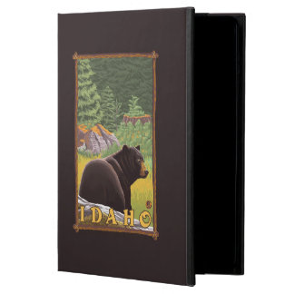 Black Bear in Forest - Idaho Case For iPad Air