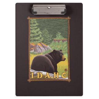 Black Bear in Forest - Idaho Clipboard