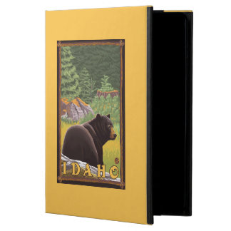 Black Bear in Forest - Idaho Cover For iPad Air