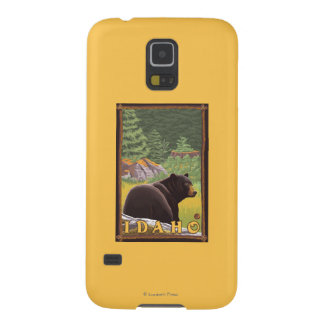 Black Bear in Forest - Idaho Galaxy S5 Case