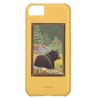 Black Bear in Forest - Idaho iPhone 5C Case