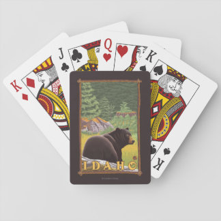 Black Bear in Forest - Idaho Playing Cards