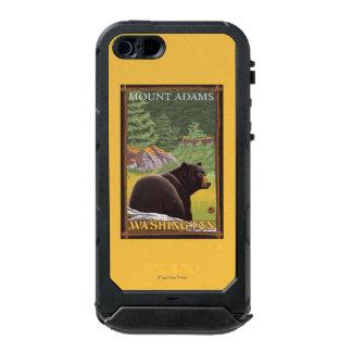 Black Bear in Forest - Mount Adams, Washington Incipio ATLAS ID™ iPhone 5 Case