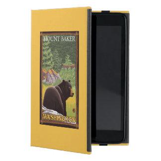 Black Bear in Forest - Mount Baker, Washington Case For iPad Mini