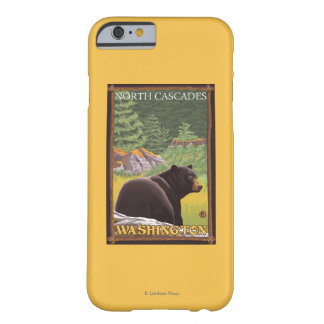 Black Bear in Forest - North Cascades, Washingto Barely There iPhone 6 Case