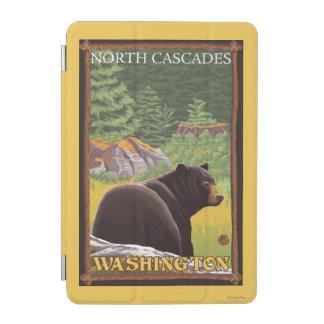 Black Bear in Forest - North Cascades, Washingto iPad Mini Cover