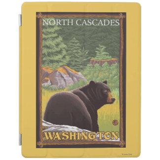 Black Bear in Forest - North Cascades, Washingto iPad Smart Cover
