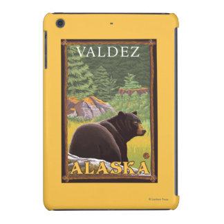 Black Bear in Forest - Valdez, Alaska iPad Mini Cases