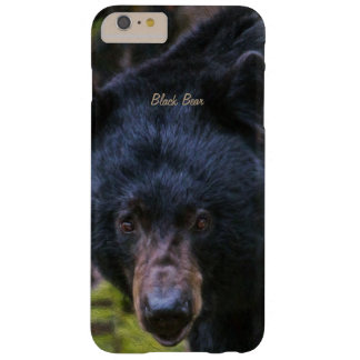 Black Bear Majesty Barely There iPhone 6 Plus Case