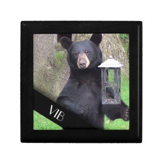 Black Bear Monogram Gift Box