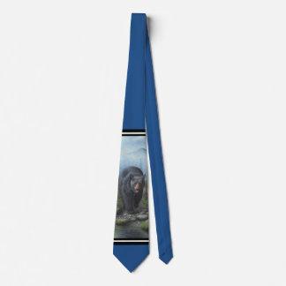 Black Bear Tie