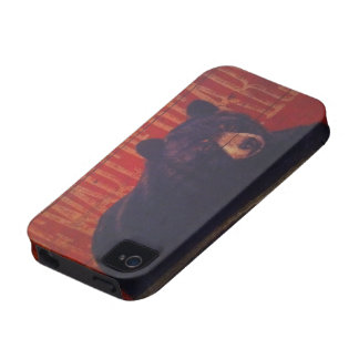Black Bear Vibe iPhone 4 Cover