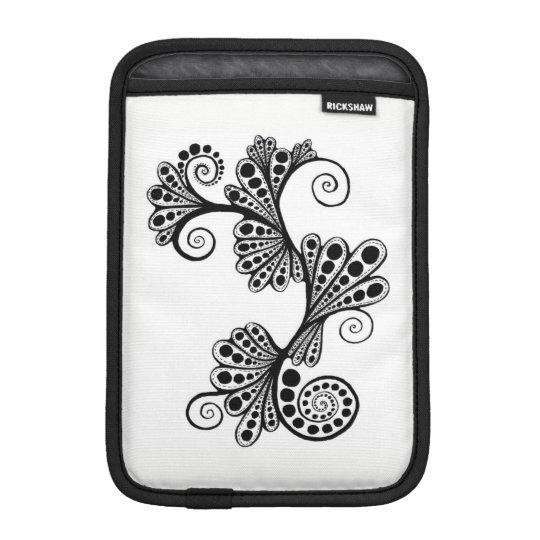 Black Beautiful iPad Mini Sleeve
