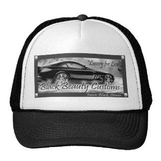 Black Beauty Customs Cap