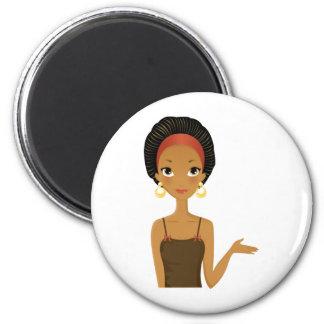 Black beauty fridge magnets