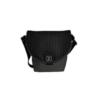 Black Bee Hive Mini Woman's Messenger Bag