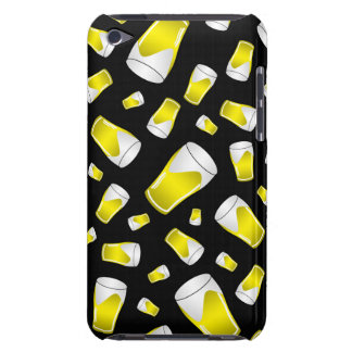 Black beer pattern barely there iPod cover