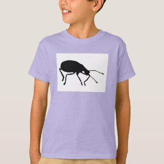 Black Beetle Pop Art Kids T-Shirt