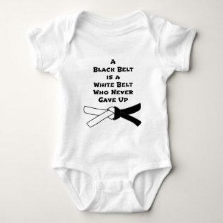 Black Belt Baby Bodysuit