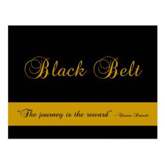 Black Belt Journey Promotion Test Invitation Postcard