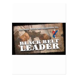 Black Belt Leader Postcard