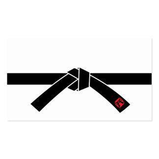 Black Belt, Martial Arts 黒帯, 武道 Pack Of Standard Business Cards