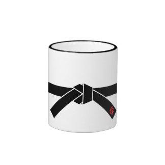 Black Belt, Martial Arts 黒帯, 武道 Ringer Mug