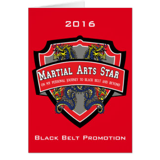 Black Belt Promotion Invitation