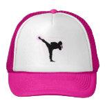 Black Belts Wear Pink Too! Cap