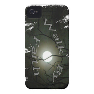 Black Berry case, Walk by Faith. Case-Mate iPhone 4 Cases