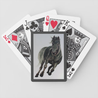 `Black Bess' Horse Painting Playing Cards