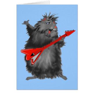 Black Betty's New Guitar Card