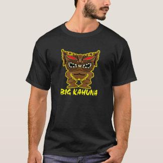 Black Big Kahuna Tiki God T-Shirt