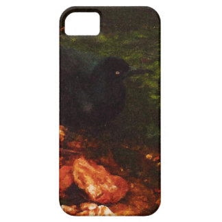 """""""Black Bird Bathing"""" - Case Barely There iPhone 5 Case"""