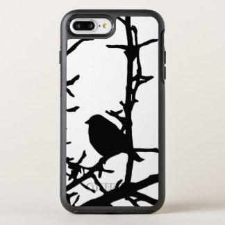 Black Bird in Tree Branches Animal OtterBox Symmetry iPhone 8 Plus/7 Plus Case