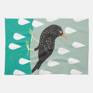 Black Bird Kitchen towel