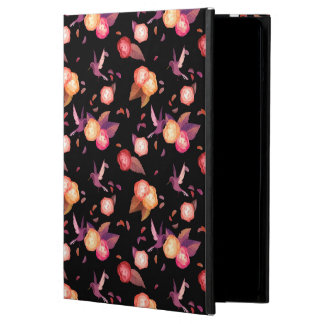 Black Birds n' roses iPad air case