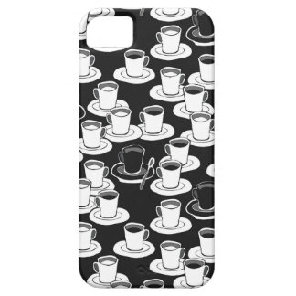 black black coffee time barely there iPhone 5 case