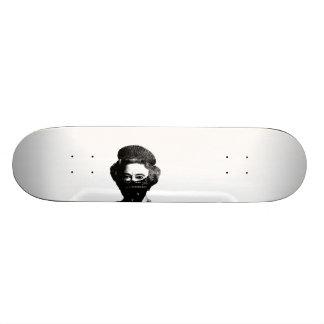 black bloc queen skate board deck