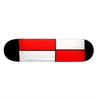 Black Blood 18.1 Cm Old School Skateboard Deck