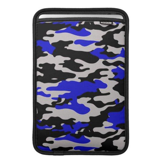 BLACK & BLUE CAMO MacBook AIR SLEEVES