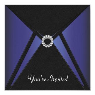 Black Blue Diamond Any Occasion Card