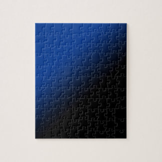 Black & Blue Gradient Jigsaw Puzzle