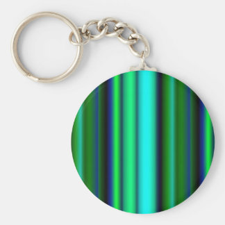 Black blue green touched Fantasy kind - kind Deco Basic Round Button Key Ring