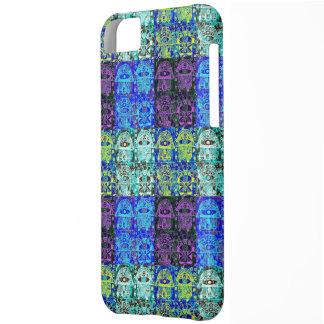Black & Blue Hamsa Tapastry Cover For iPhone 5C