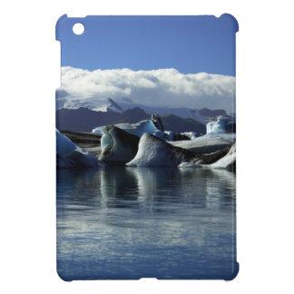 Black & Blue Icebergs, Iceland iPad Mini Case
