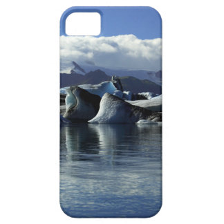 Black & Blue Icebergs, Iceland iPhone 5 Cases