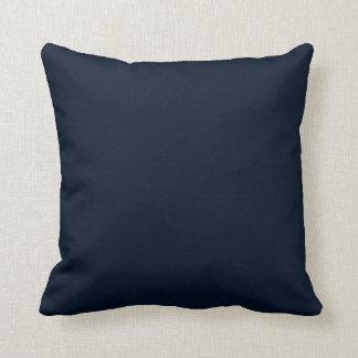 Black Blue Throw Cushion